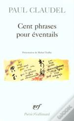 Cent Phrases Pour Eventails
