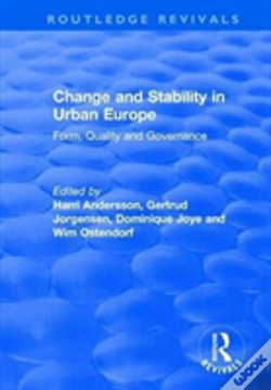 Wook.pt - Change And Stability In Urban Europe