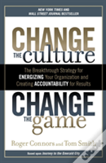 Change The Culture Change The