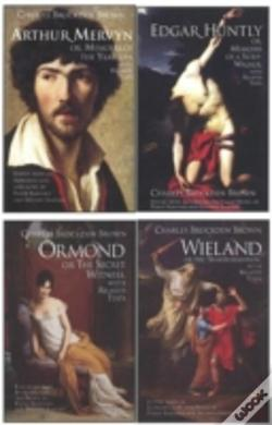 Wook.pt - Charles Brockden Brown'S Wieland, Ormond, Arthur Mervyn And Edgar Huntly, With Related Texts
