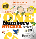Charlie & Lola A Numbers Sticker Activit