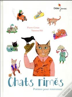 Wook.pt - Chats Rimes, 22 Poemes Pour Ronronner