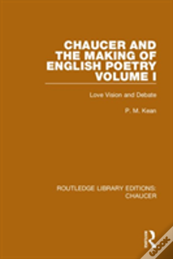 Wook.pt - Chaucer And The Making Of English Poetry, Volume 1