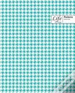 Checkered Ii Pattern Composition Noteboo