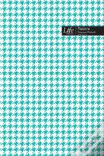 Checkered Ii Pattern Composition Notebook, Dotted Lines, Wide Ruled Medium Size 6 X 9 Inch (A5), 144 Sheets Royal Cover