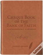 Chequebook Of The Bank Faith Journaling