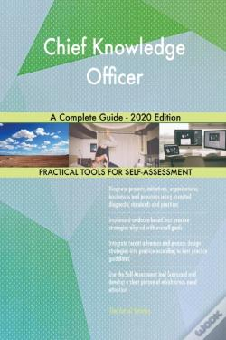 Wook.pt - Chief Knowledge Officer A Complete Guide - 2020 Edition