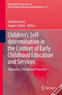 Wook.pt - Children'S Self-Determination In The Context Of Early Childhood Education And Services