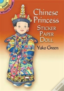 Wook.pt - Chinese Princess Sticker Paper Doll