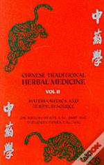 Chinese Traditional Herbal Medicinemateria Medica And Herbal Resource