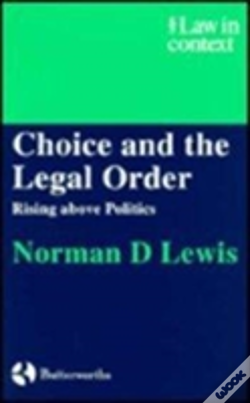 Wook.pt - Choice And The Legal Order