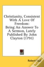 Christianity, Consistent With A Love Of