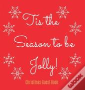 Christmas Guest Book (Hardcover)