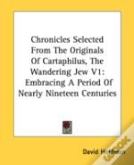 Chronicles Selected From The Originals O