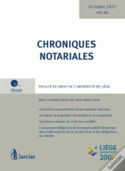 Wook.pt - Chronique Notariale 66