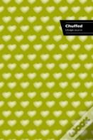 Chuffed Lifestyle Journal, Write-In Notebook, Dotted Lines, Wide Ruled, Medium Size 6 X 9 Inch (A5) Hardcover (Beige)