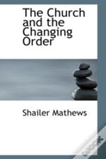 Church And The Changing Order