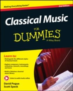 Wook.pt - Classical Music For Dummies