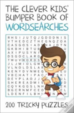 Wook.pt - Clever Kids Bumber Book Of Wordsearches