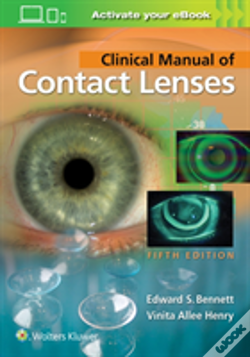 Wook.pt - Clinical Manual Of Contact Lenses 5e