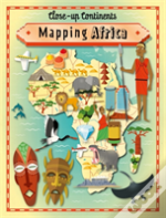 Close Up Continents Mapping Africa