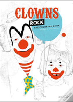 Wook.pt - Clowns Rock: The Coloring Book