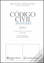 Código Civil Anotado - Volume I