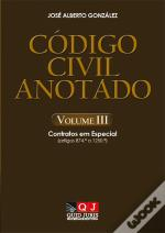 Código Civil Anotado - Volume III