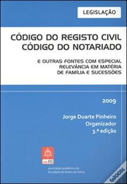 Wook.pt - Código do Registo Civil - Código do Notariado
