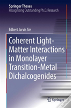 Wook.pt - Coherent Light-Matter Interactions In Monolayer Transition-Metal Dichalcogenides