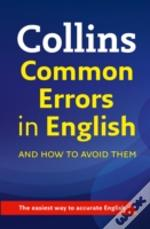 Collins Easy Learning - Collins Easy Learning Common Errors In English