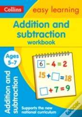 Collins Easy Learning Age 5-7 - Addition And Subtraction Workbook Ages 5-7