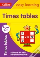 Collins Easy Learning Age 7-11 - Times Tables Ages 7-11