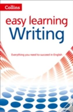Wook.pt - Collins Easy Learning English - Easy Learning Writing