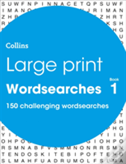 Wook.pt - Collins Large Print Wordsearch Book 1