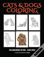 Color Therapy Book (Cats And Dogs)
