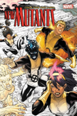 Wook.pt - Color Your Own X-Men: The New Mutants
