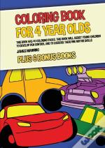 Coloring Book For 4 Year Olds (Cars)