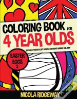 Coloring Book For 4 Year Olds (Easter Eggs 2)