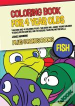 Coloring Book For 4 Year Olds (Fish)