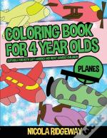 Coloring Pages For 4 Year Olds (Planes)
