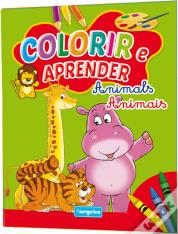 Colorir e Aprender - Animals / Animais