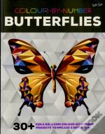 Colour-By-Number: Butterflies