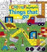Colour By Numbers Things That Go