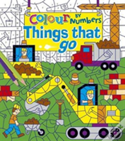 Wook.pt - Colour By Numbers Things That Go