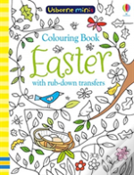 Colouring Book Easter With Rub Downs