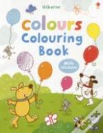 Colours Colouring Book With Stickers