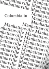 Columbia In Manhattanville