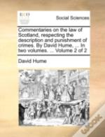 Commentaries On The Law Of Scotland, Res