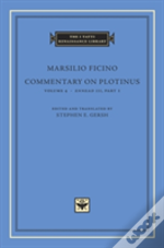 Commentary On Plotinus Volume 4 8211